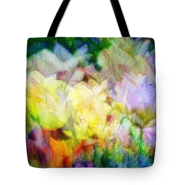 Ethereal Flowers Tote Bag