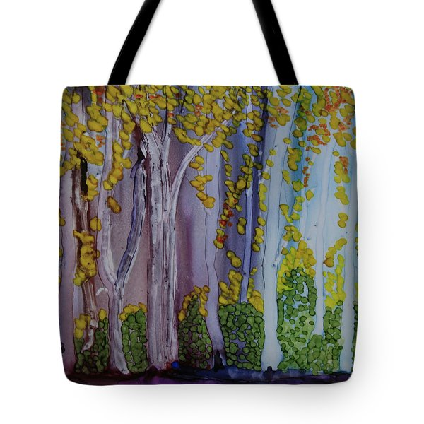 Ethereal Forest Tote Bag by Suzanne Canner