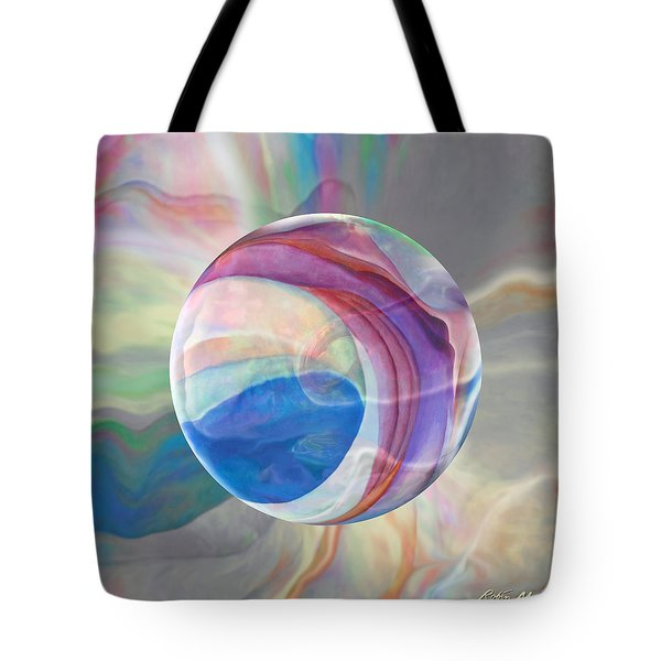 Tote Bag featuring the painting Ethereal World by Robin Moline