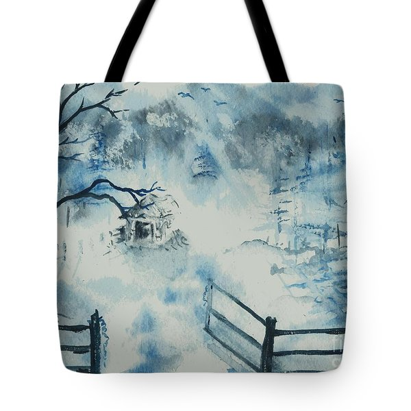 Ethereal Morning  Tote Bag