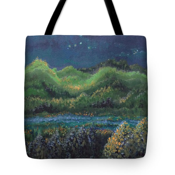 Ethereal Reality Tote Bag by Holly Carmichael