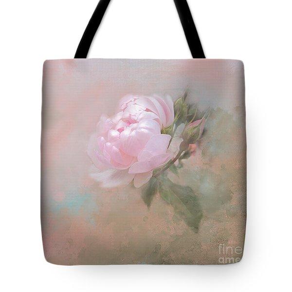 Ethereal Rose Tote Bag