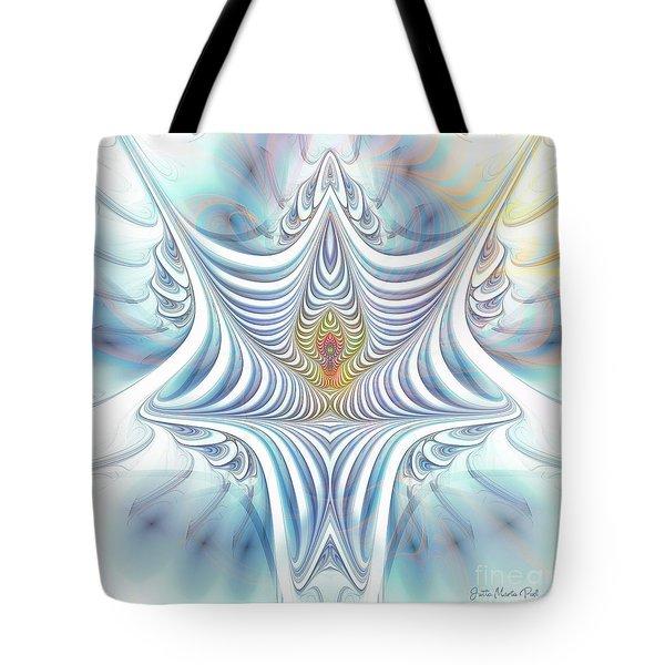 Tote Bag featuring the digital art Ethereal Treasure by Jutta Maria Pusl