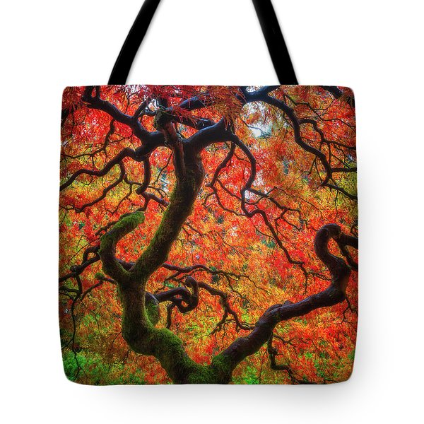 Tote Bag featuring the photograph Ethereal Tree Alive by Darren White
