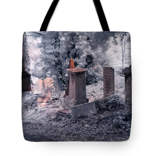 Tote Bag featuring the photograph Ethereal Walk by Helga Novelli