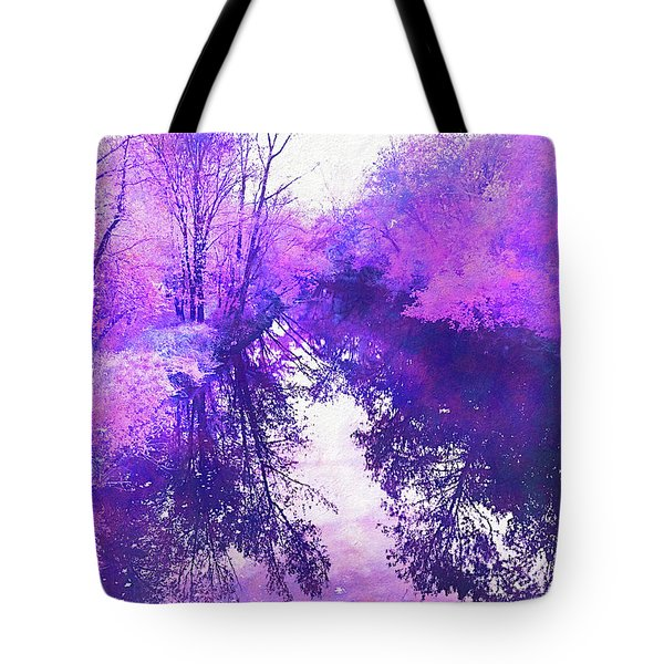 Ethereal Water Color Blossom Tote Bag