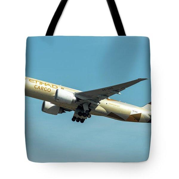 Ethiad Cargo Boeing B777 Tote Bag