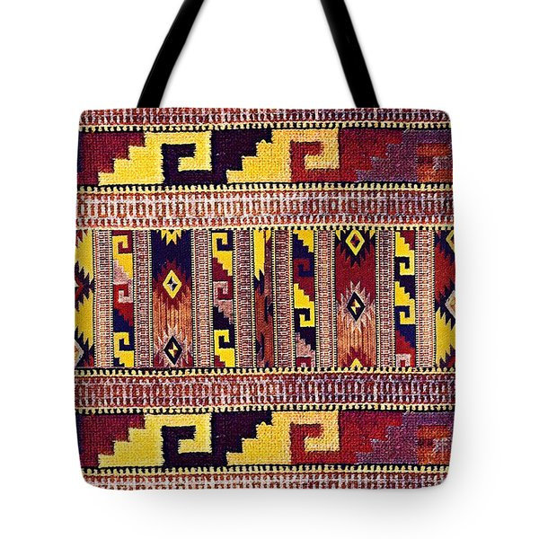 Ethnic Tribal Tote Bag