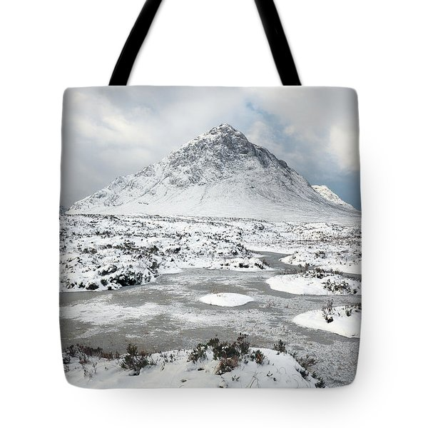 Etive Mor Winter Tote Bag