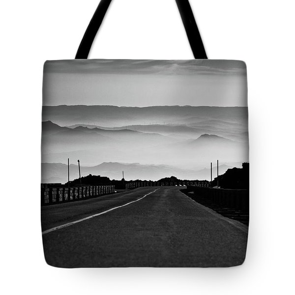 Etna Road Tote Bag