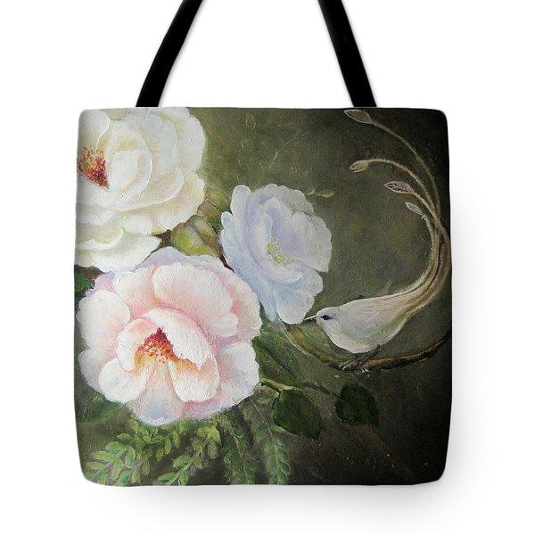 Etre Fleur  Tote Bag by Patricia Schneider Mitchell