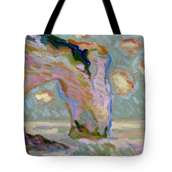 Etretat -1 Tote Bag