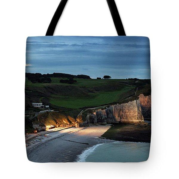 Etretat In The Evening Tote Bag