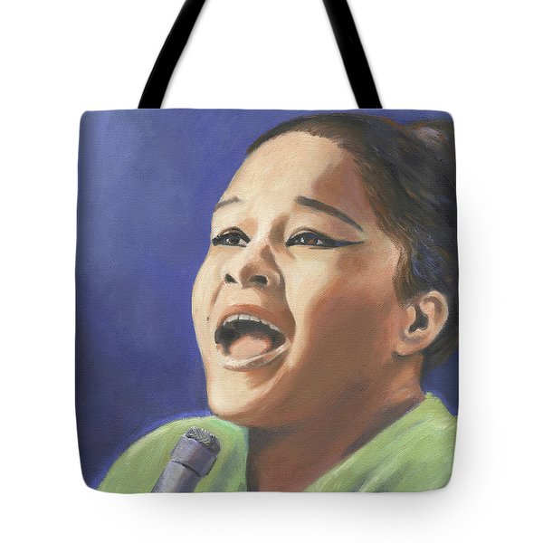 Etta James Tote Bag