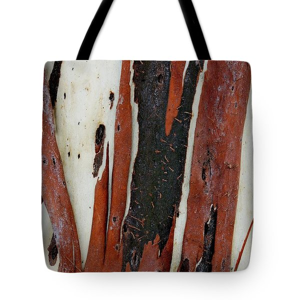 Eucalyptus Bark Abstract 2 Tote Bag