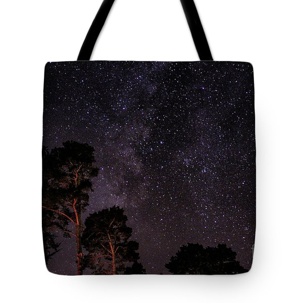 Eucalyptus Galaxy Tote Bag