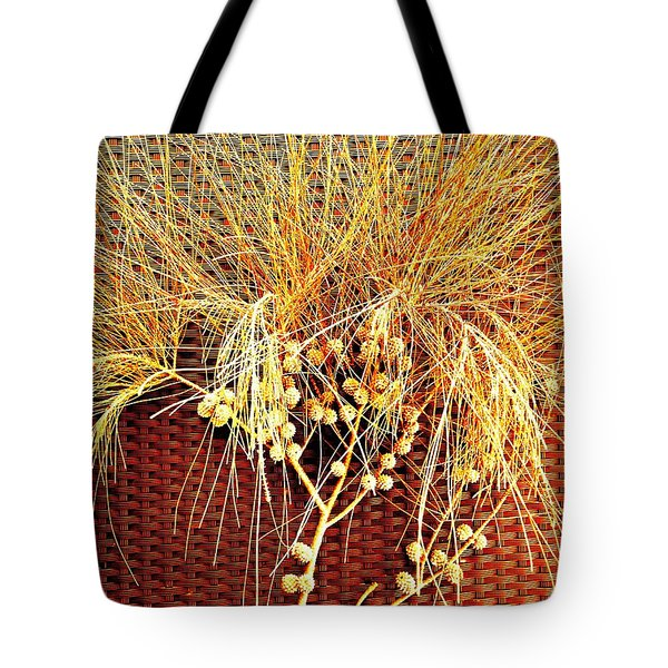 Eucalyptus Red Tote Bag