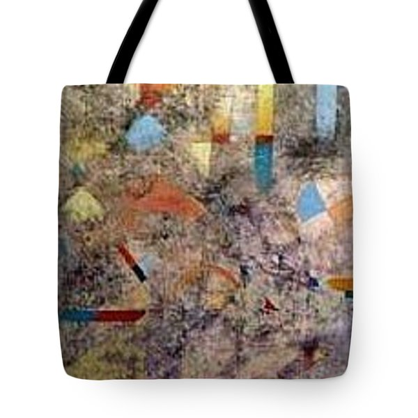 Euclidean Perceptions Tote Bag by Bernard Goodman
