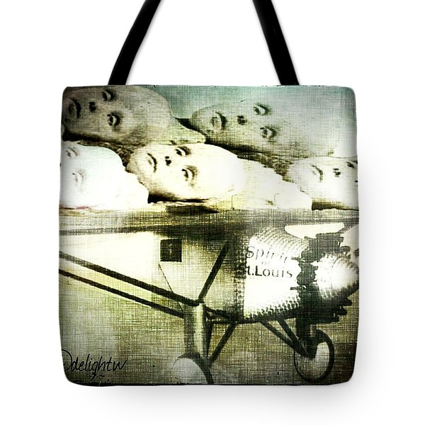 Tote Bag featuring the digital art Eugenics 101 by Delight Worthyn