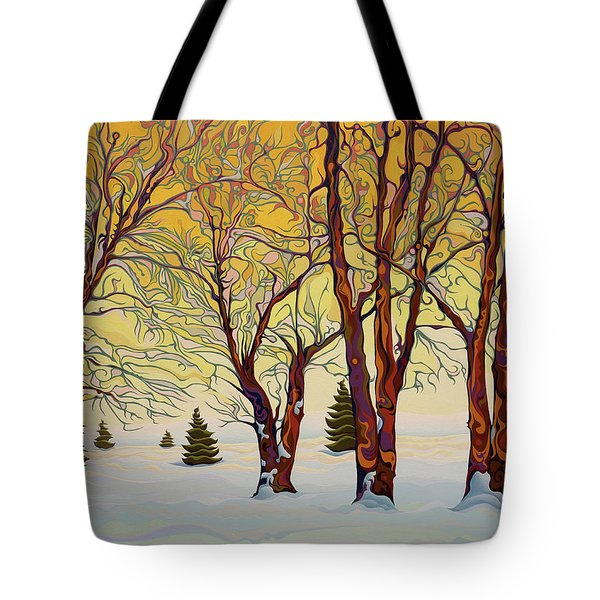 Euphoric Treequility Tote Bag