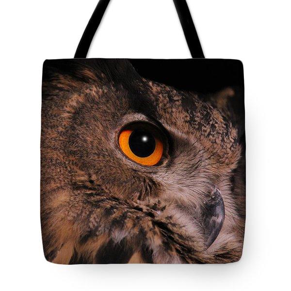 Eurasian Eagle-owl Tote Bag