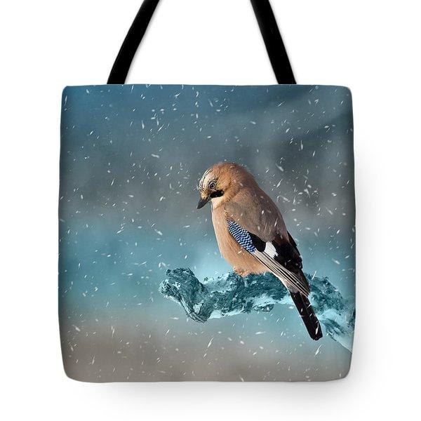 Eurasian Jay Tote Bag by Ericamaxine Price