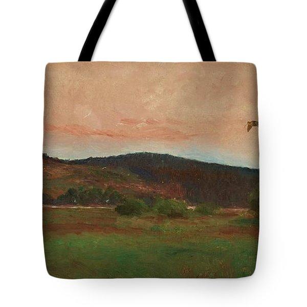Eurasian Woodcocks Tote Bag