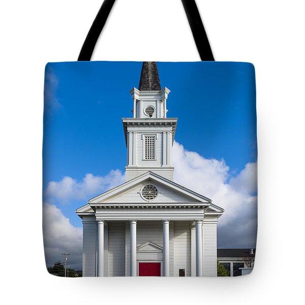 Eureka Church Tote Bag by Greg Nyquist