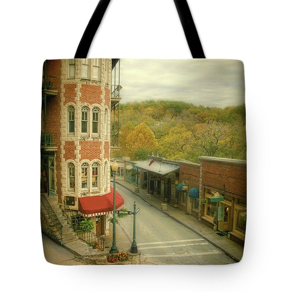Eureka Springs Tote Bag by Jill Battaglia