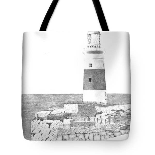 Europa Point Lighthouse Tote Bag