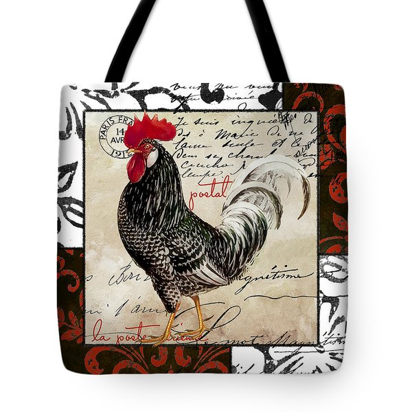 Europa Rooster IIi Tote Bag