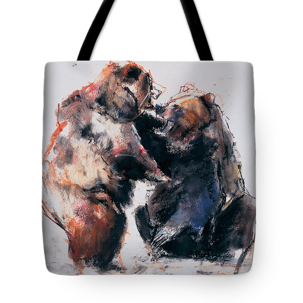 European Brown Bears Tote Bag