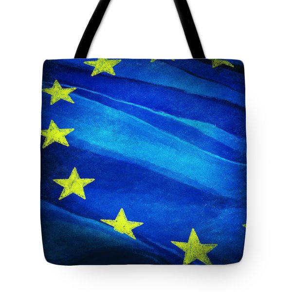 European Flag Tote Bag by Setsiri Silapasuwanchai