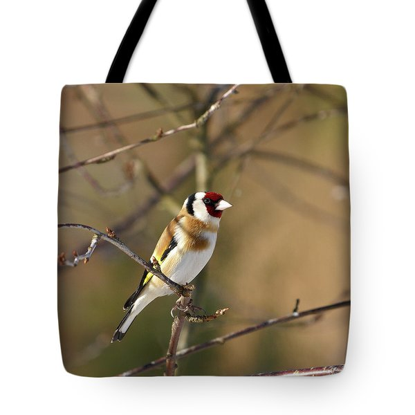 European Goldfinch 2 Tote Bag by Jouko Lehto
