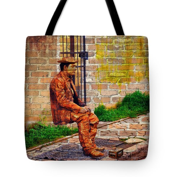 European Street Performer Tote Bag