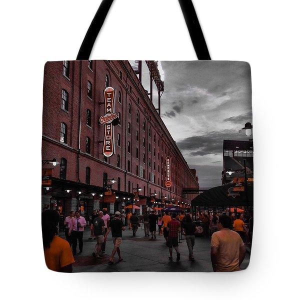 Eutaw Street Tote Bag