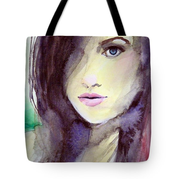 Olivia Tote Bag by Ed  Heaton