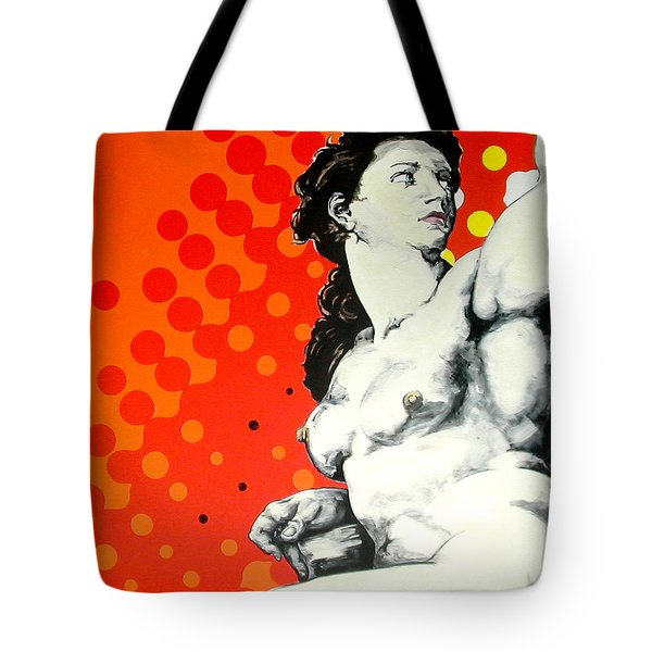 Eva Tote Bag by Jean Pierre Rousselet