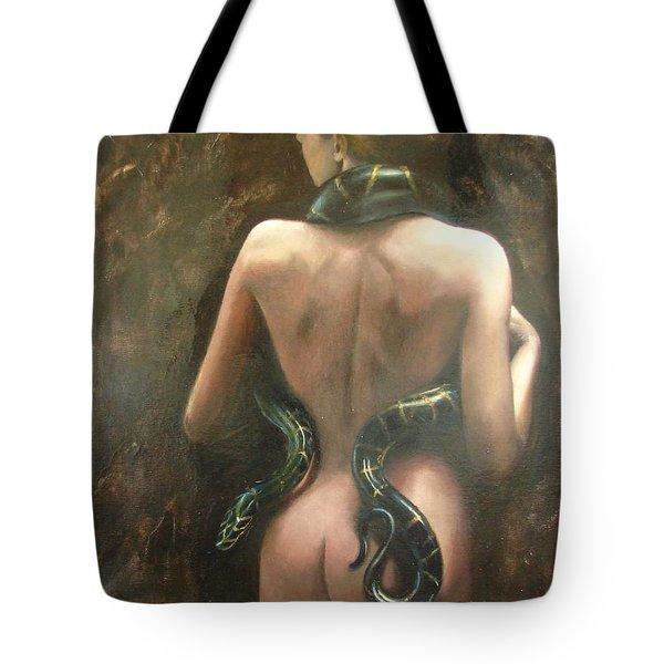Eva Tote Bag by Sergey Ignatenko