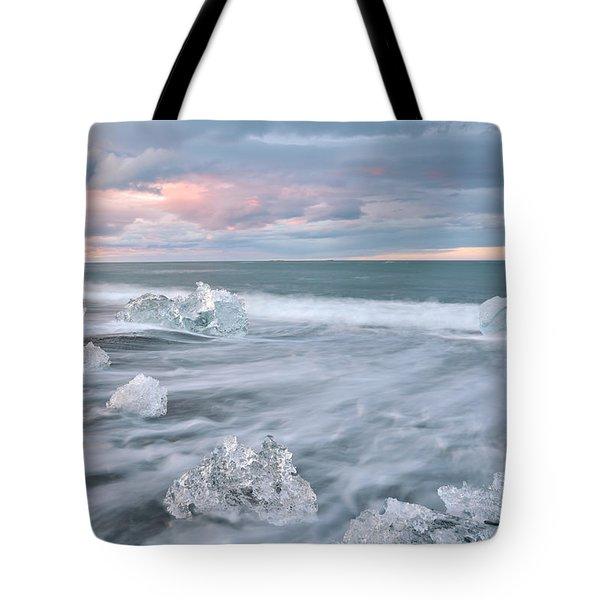 Evanescence Of Jokulsarlon  Tote Bag by Dustin  LeFevre