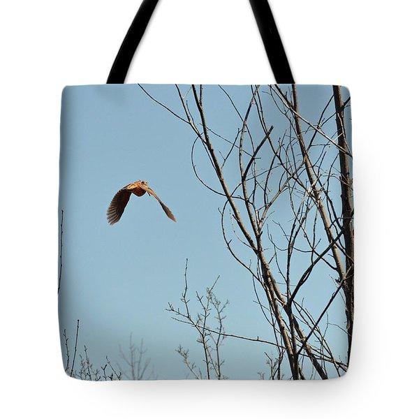 Evanescent Queen Of Upland Birds Tote Bag