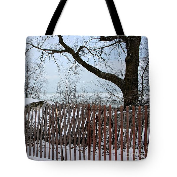 Evanston Winter Tote Bag