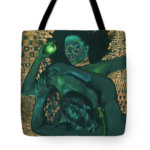 Tote Bag featuring the painting Eve by Ragen Mendenhall