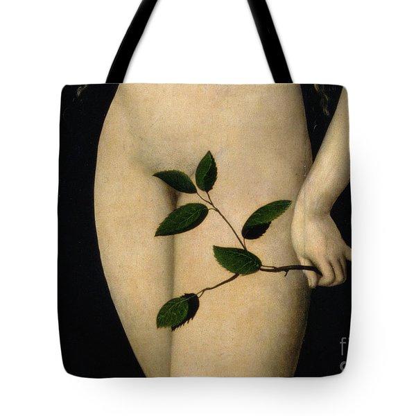 Eve Tote Bag by The Elder Lucas Cranach