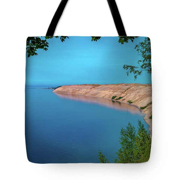 Eveing Light On Grand Sable Banks Tote Bag