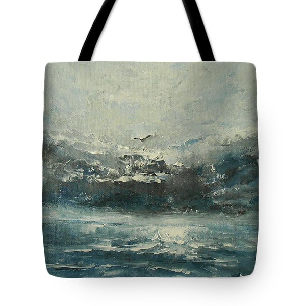 Even If The Skies Get Rough Tote Bag