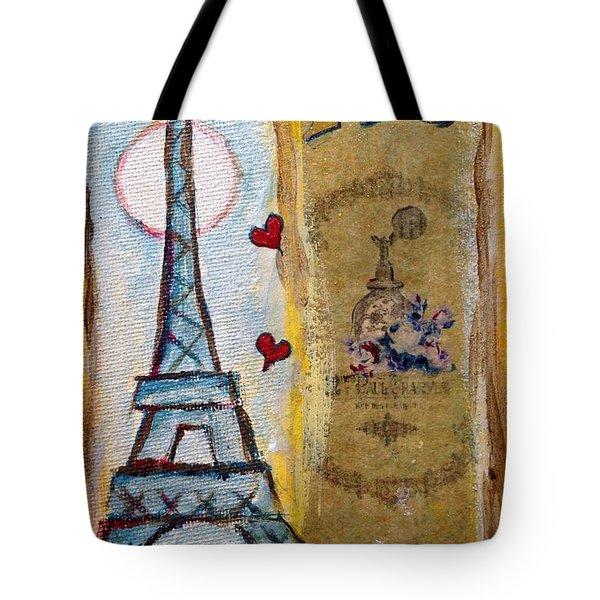 Even Paris Loves Paris Tote Bag