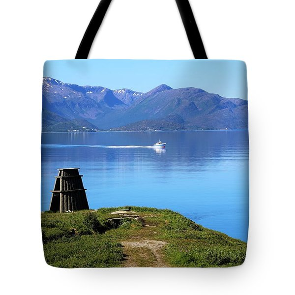 Evenes, Fjord In The North Of Norway Tote Bag