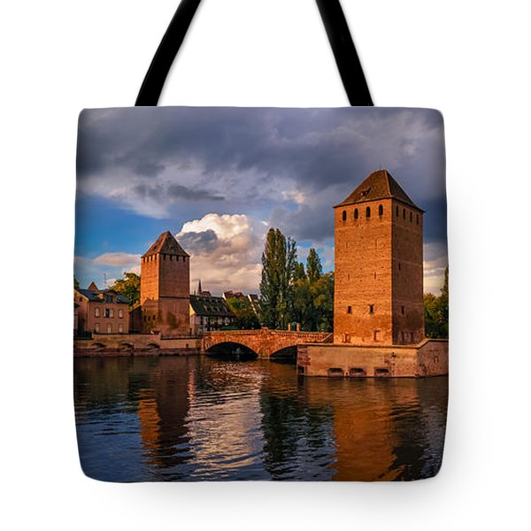 Tote Bag featuring the photograph Evening After The Rain On The Ponts Couverts by Dmytro Korol