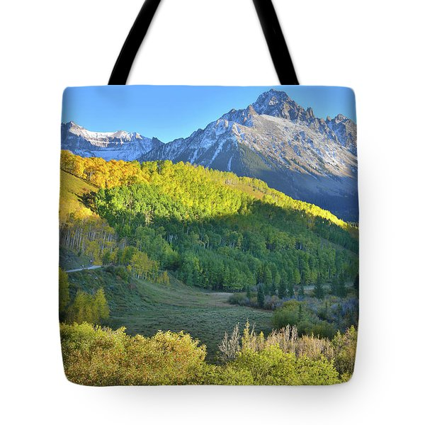 Tote Bag featuring the photograph Evening Along County Road 7 by Ray Mathis